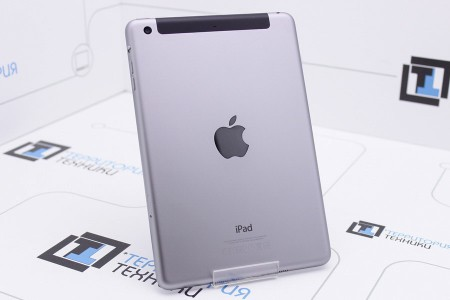 Планшет Б/У Apple iPad mini 16GB LTE Space Gray (3 поколение)