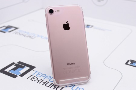 Смартфон Б/У Apple iPhone 7 128GB Rose Gold