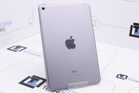 Планшет Б/У Apple iPad mini 128GB Wi-Fi Space Gray (4 поколение) MDM