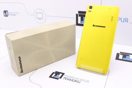 Смартфон Б/У Lenovo K3 Note Yellow