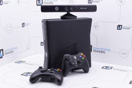 Приставка Б/У Microsoft Xbox 360 Slim 4GB (LT 3.0) + Kinect