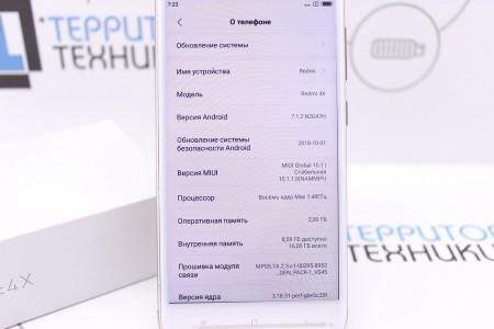 Смартфон Б/У Xiaomi Redmi 4X 16GB Gold