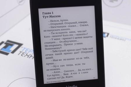 Электронная книга Б/У Amazon Kindle Paperwhite 2018 8GB