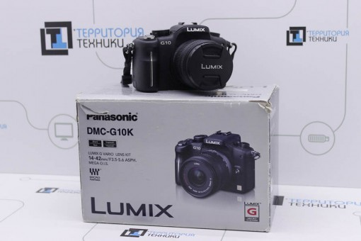 Panasonic Lumix DMC-G10 Kit 14-42mm