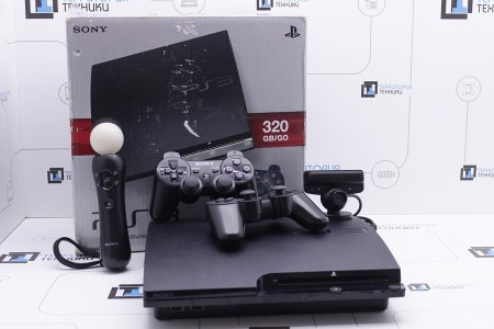 Приставка Б/У Sony PlayStation 3 Slim 320Gb