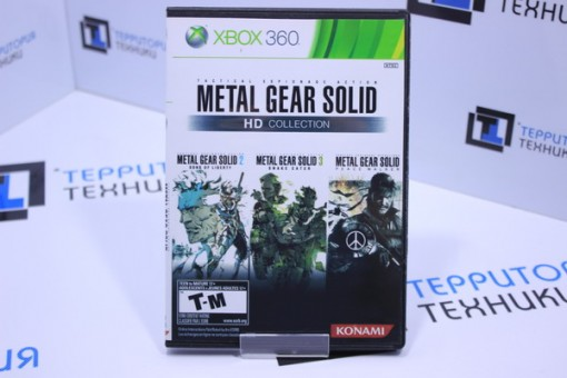 Metal Gear Solid Collection (xBox 360) 2CD