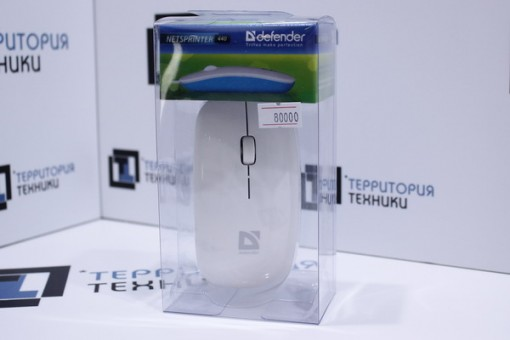 Мышь Defender NetSprinter 440 White