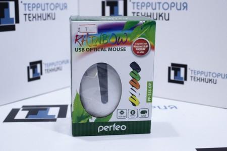 Мышь проводная Perfeo PF-353-OP White
