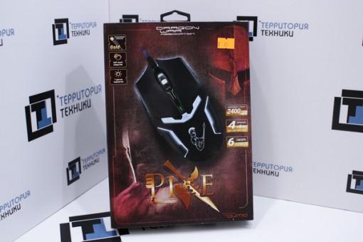 Мышь Qumo Dragon War Pike Black USB