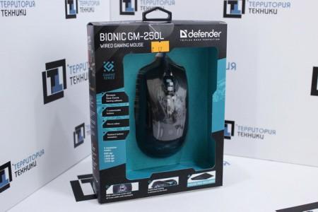 Мышь проводная Defender Bionic GM-250L