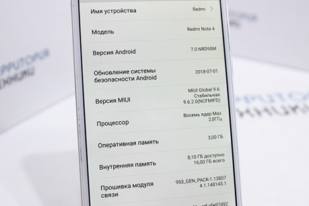 Смартфон Б/У Xiaomi Redmi Note 4X 3GB/16GB Gold