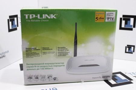 Беспроводной маршрутизатор TP-Link TL-WR740N (Ver. 5.1)