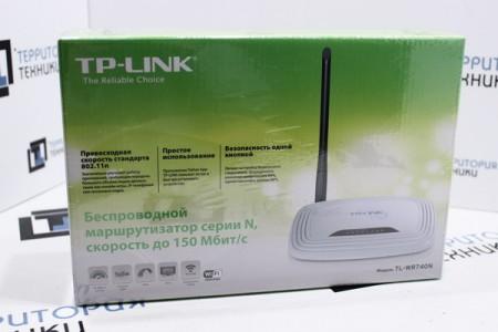 Беспроводной маршрутизатор TP-Link TL-WR740N (Ver. 6.0)