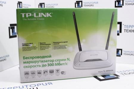 Беспроводной маршрутизатор TP-Link TL-WR841N (Ver 11.0)