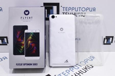 Смартфон Б/У Flycat Optimum 5003 White