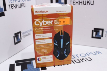 Мышь проводная Defender Cyber MB-560L