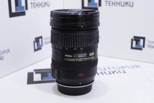 Объектив Nikon AF-S DX VR Zoom-NIKKOR 18-200mm f/3.5-5.6G IF-ED