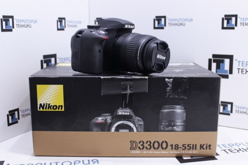 Nikon D3300 Kit 18-55mm II