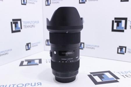 Объектив Б/У Sigma 18-35mm F1.8 DC HSM Canon EF