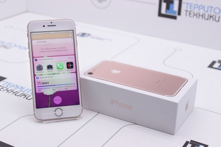 Смартфон Б/У Apple iPhone 7 32GB Rose Gold