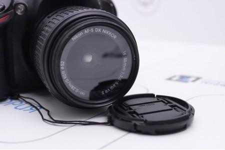 Фотоаппарат Б/У зеркальный Nikon D3200 Kit 18-55mm VR