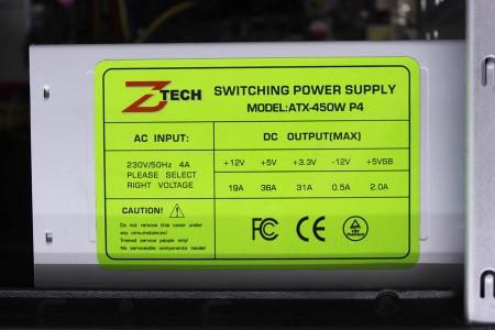 Системный блок Б/У Z-Tech - 2593