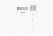 Кабель Hoco X1 RAPID USB - APPLE (30PIN) 1m White