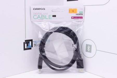 Видеокабель HDMI - HDMI OMEGA 1.5M (OCHB41)