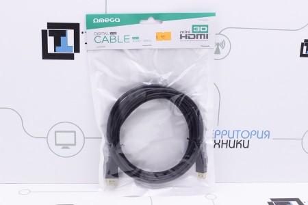 Видеокабель HDMI - mini HDMI OMEGA 3.0M (OCHB43M)