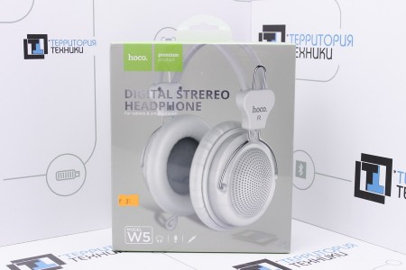 Наушники Hoco W5 Manno Headphone White