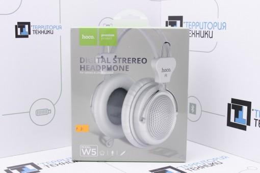 Наушники Hoco W5 Manno Headphone White