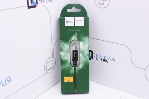 Кабель Hoco X14 Micro USB Times Speed Charging cable 1m Black