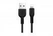 Кабель Hoco X20 Flash USB - Lightning 1m Black