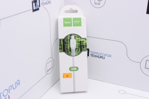 Кабель Hoco X20 Flash USB - microUSB 1m White