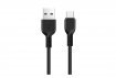 Кабель Hoco X20 Flash USB - USB TYPE-C 1m Black