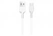 Кабель Hoco X20 Flash USB - USB TYPE-C 1m White