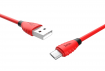 Кабель Hoco X27 Flash USB - microUSB 1.2m RED