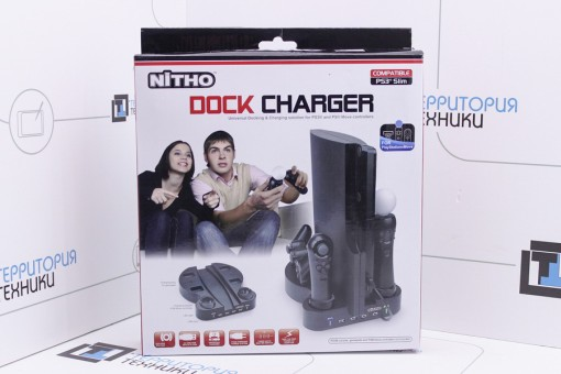 Док-станция Nitho PS3 Slim DOCK Charger