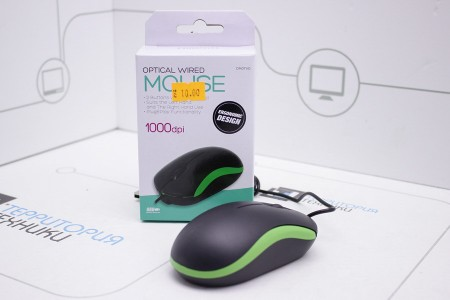 Мышь OMEGA OM-07 3D Green