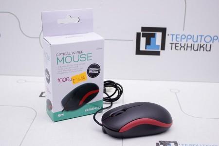Мышь OMEGA OM-07 3D Red