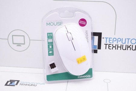 Мышь OMEGA OM-420 White