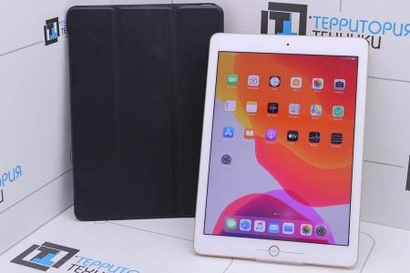 Планшет Б/У Apple iPad 2017 32Gb Wi-Fi Gold (5 поколение)