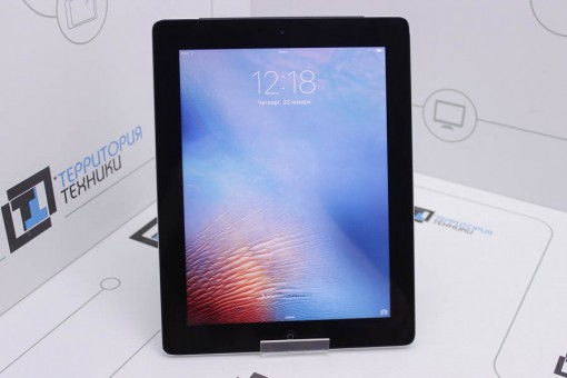 Apple iPad 16GB Wi-Fi Black (3 поколение)