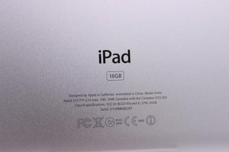 Планшет Б/У Apple iPad 16GB Wi-Fi Black (3 поколение)