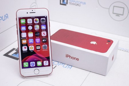 Смартфон Б/У Apple iPhone 7 (PRODUCT)RED™ Special Edition 128GB