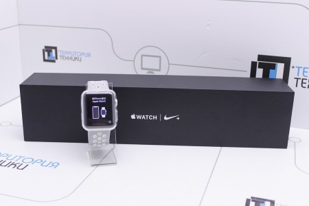 Смарт-часы Б/У Apple Watch 2 Nike+ 42mm Silver