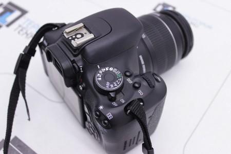 Фотоаппарат Б/У зеркальный Canon EOS 600D Kit 18-55mm IS II