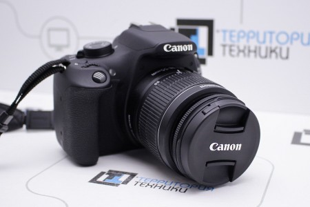 Фотоаппарат Б/У зеркальный Canon EOS 1200D Kit 18-55mm III