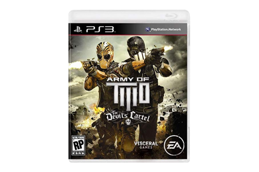 Диск с игрой Army of Two: The Devil's Cartel