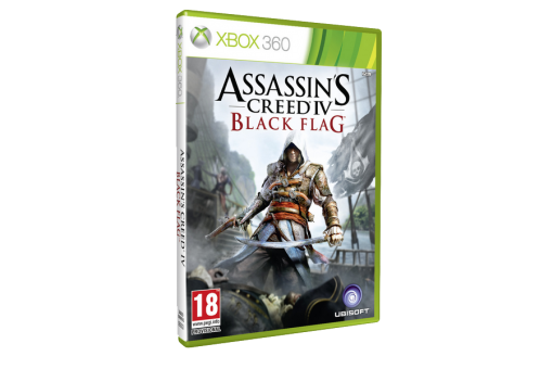 Диск с игрой Assassin's Creed IV Black Flag